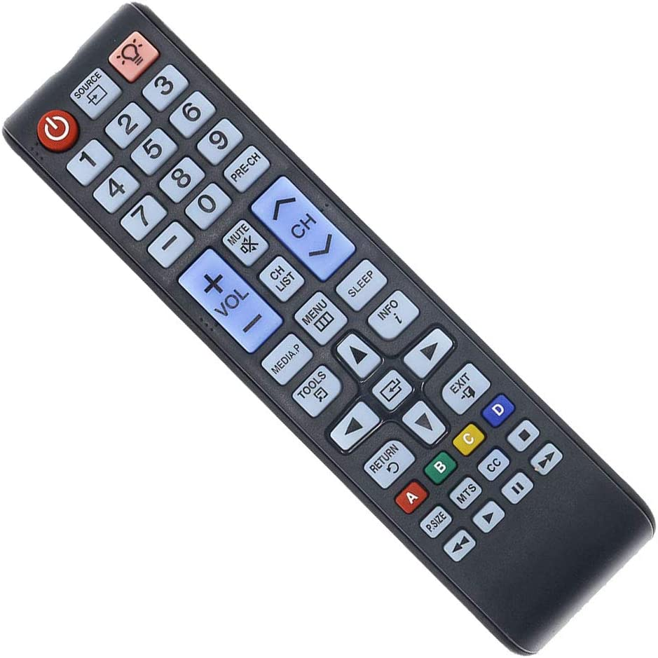 DEHA TV Remote Control for Samsung QN65Q75CNF Television