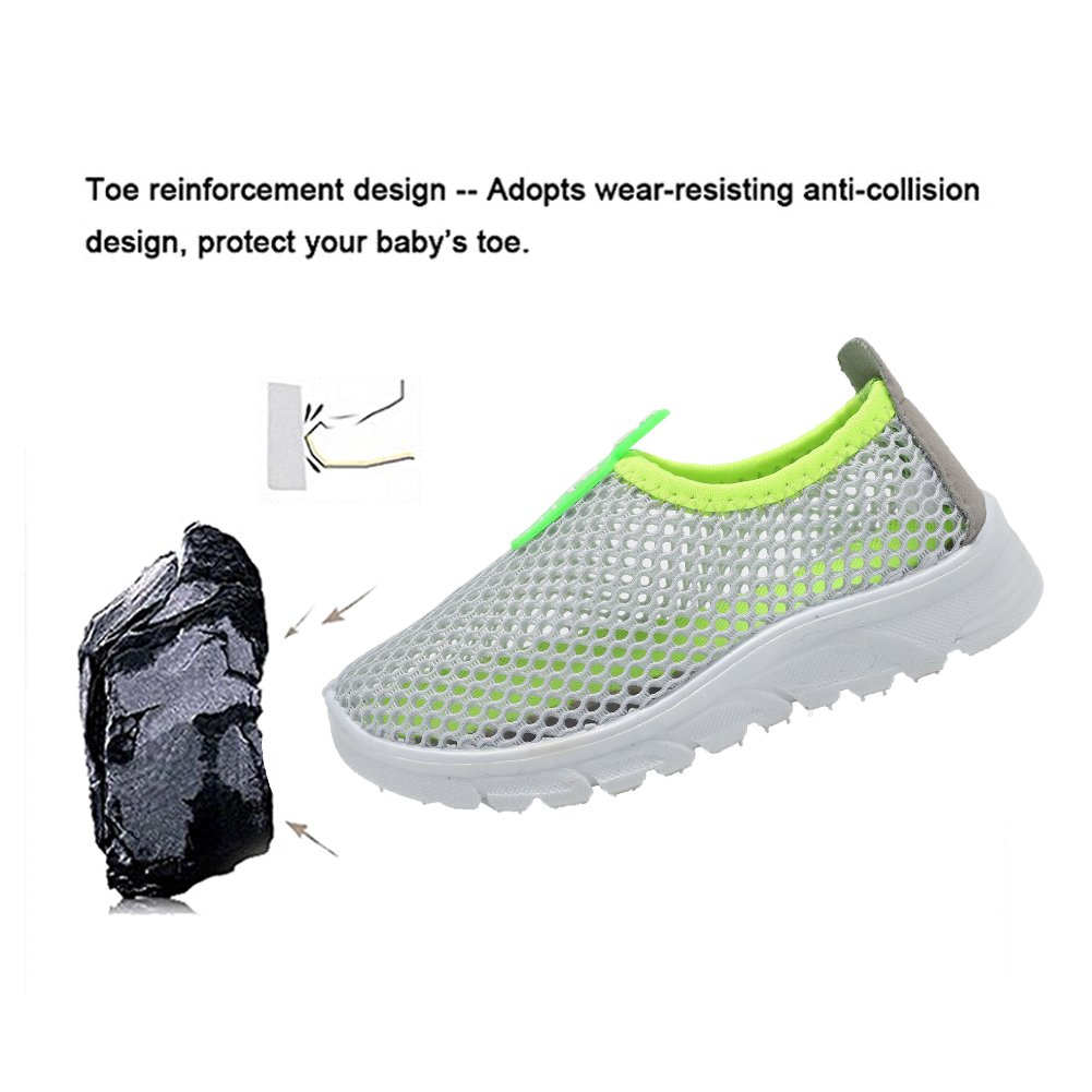 CIOR Toddler Kids Water Shoes Breathable Mesh Running Sneakers Sandals for Boys Girls Running Pool Beach /…