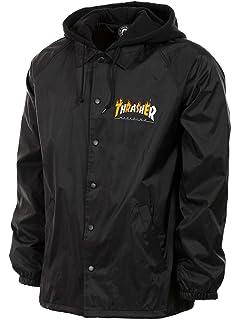 4caaa36271b7 Amazon.com  Thrasher Skategoat Coach Jacket Camo Orange  Clothing
