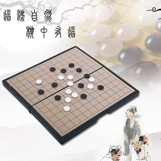 WANGYONGQI Trompeta, Gomoku, Tablero Plegable, Juego de ajedrez de Juegos de Entretenimiento para niños: Amazon.es: Deportes y aire libre