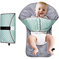 Green 3-in-1 Clean Hands Nappy Change Mat