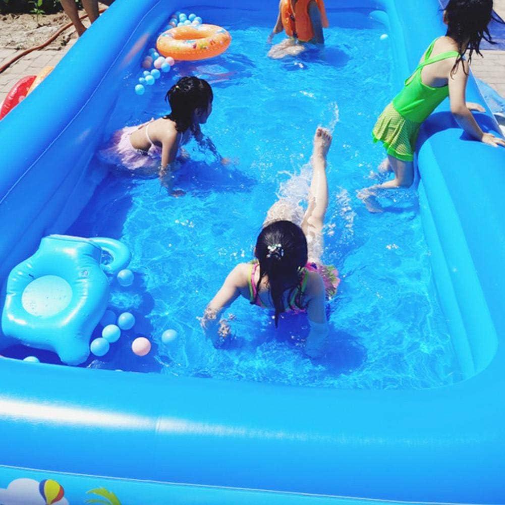 jard/ín Centro de nataci/ón Duradero Plegable de PVC Piscina Inflable Familiar Patio Trasero Piscinas Infantiles para ni/ños Adultos Piscina Inflable Familiar ni/ños peque/ños al Aire Libre beb/és