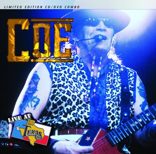 DAVID ALLAN COE/LIVE AT BILLY BOB'S TEXAS LIMITED EDITION CD/DVD COMBO by Smith Music Group