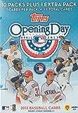 2013 Topps Opening Day MLB Baseball Series Factory Sealed Unopened Blaster Box