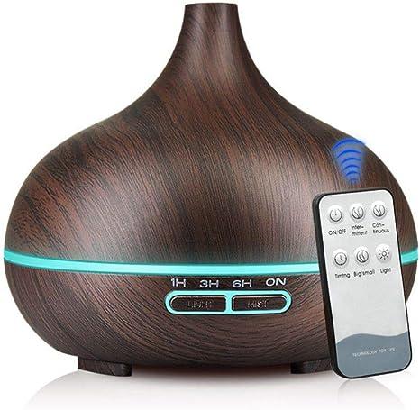 WZRDD 550Ml Aroma Air Humidifier Essential Oil Diffuser ...