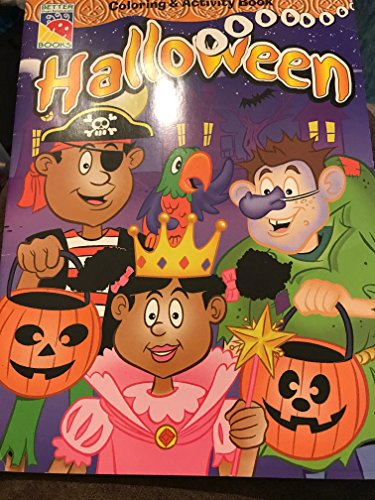 halloween coloring and activity book better books -