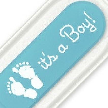 Lima de uñas para un bebé con un extremo redondeado. Calidad superior, auténtico cristal checo. La forma más segura de mantener las uñas de un ...