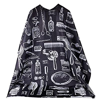 Hairdresser Cape Baomabao Professional Cutting Hair Waterproof Cloth Salon Barber Gown Cape Hairdressing Tools