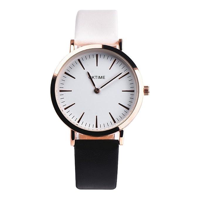 JiaMeng Reloj con Movimiento Cuarzo Diseño Retro del Reloj del Cuarzo de la aleación de la