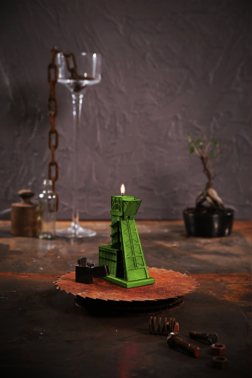Candellana Candles 5902841366930 Mining Shaft Lime