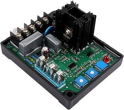 GAVR-8A Generator Voltage Regulator Universal AVR Generator Automatic Voltage Regulator with Under Frequency Protection; Soft Start Voltage Ramping