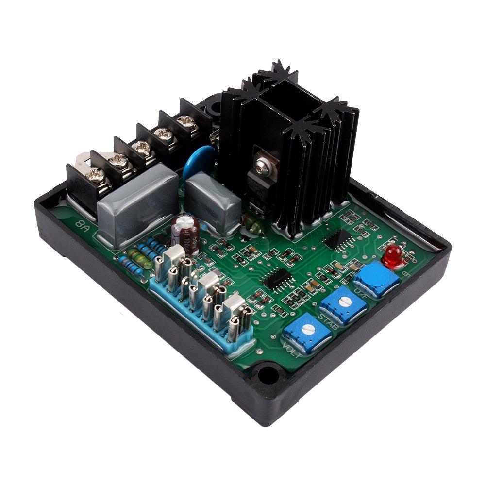 Universal GAVR-8A AVR Generator Automatic Voltage Regulator Module 8A AVR WALFRONT