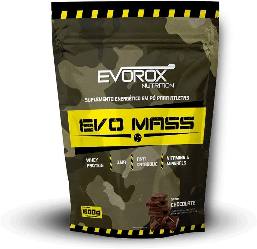 Hipercalórico Evo Mass 1.6kg - Evorox Nutrition (Baunilha) por Evorox Nutrition