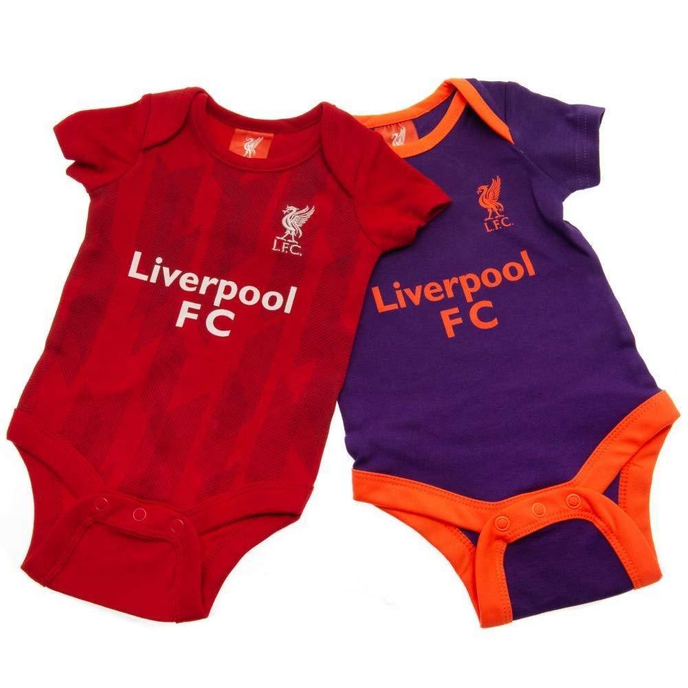 Conjunto de traje de ba/ño 2 unidades Liverpool 2018-19 rojo rosso Talla:0-3 Meses