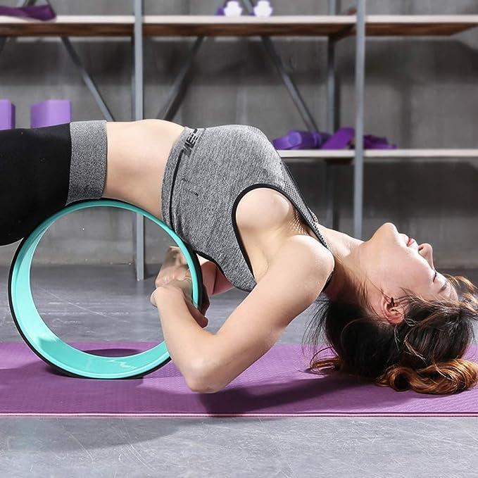 Amazon.com: Rodillo de ejercicio abdominal para yoga, curva ...