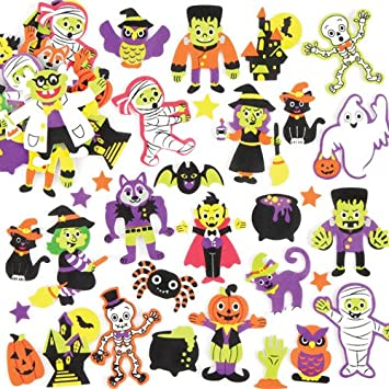 halloween foam stickers perfect for halloween childrens arts crafts and decorating for boys and girls
