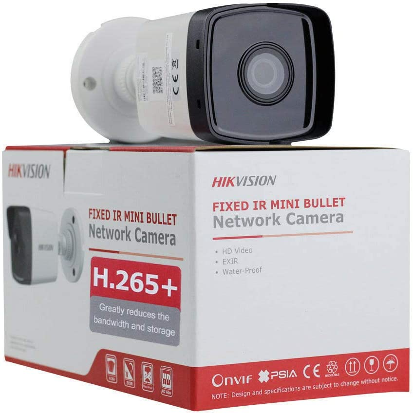 Hikvision 2MP POE IP Bullet H265 DS-2CD1023G0-I Outdoor Network Camera WDR EXIR