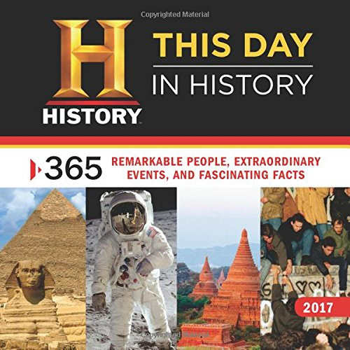 2017 History Channel This Day in History Wall Calendar