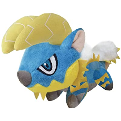 Capcom Monster Hunter: Zinogre Monster Chibi Plush Toy: Toys & Games