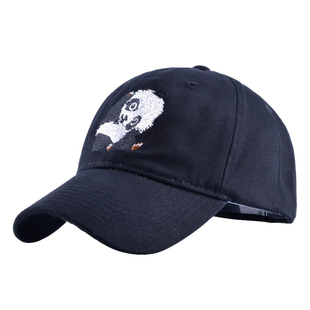 sdssup Hombres y Mujeres Gorra de béisbol Bordada Gorra papá Panda ...