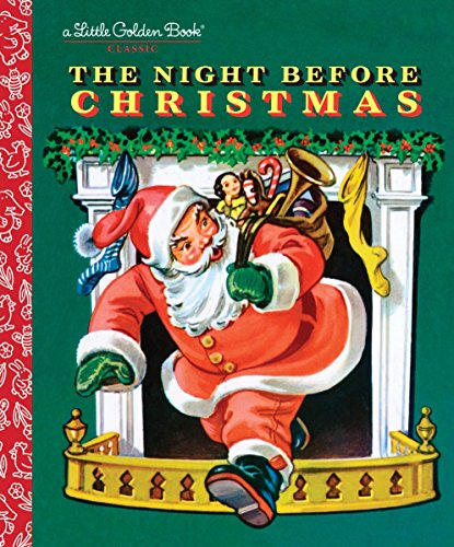 The Night Before Christmas (Little Golden Book) (Fonts Style Christmas Merry)