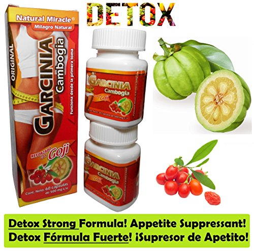 Nutrarelli DETOX - capsulas Appetite Control BY NATURAL MIRACLE (NUTRARELLI)