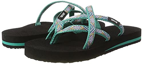 494a1f898 Image Unavailable. Image not available for. Color  Teva Women s Olowahu Flip -Flop ...