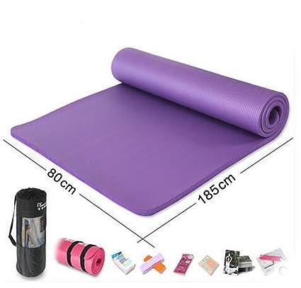 YU Auténtica 2 cm de grosor, colchoneta de yoga esterilla ...