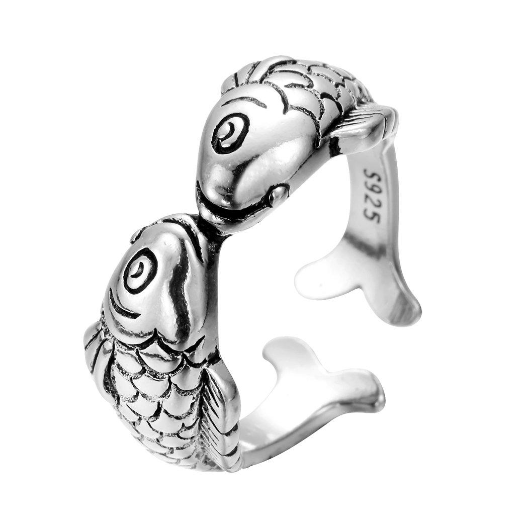 Ring Silber Damen Geschenk Katze Größe verstellbar Kristall Partyschmuck Schmuck