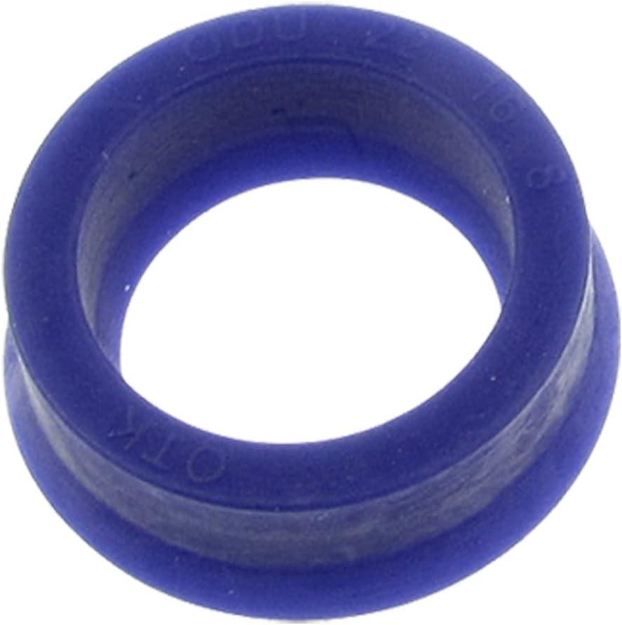 sourcing map 22mm x 16mm x 8mm Polyurethan Zylinder Kolbenstange /Öldichtung ODU Blau de DE de
