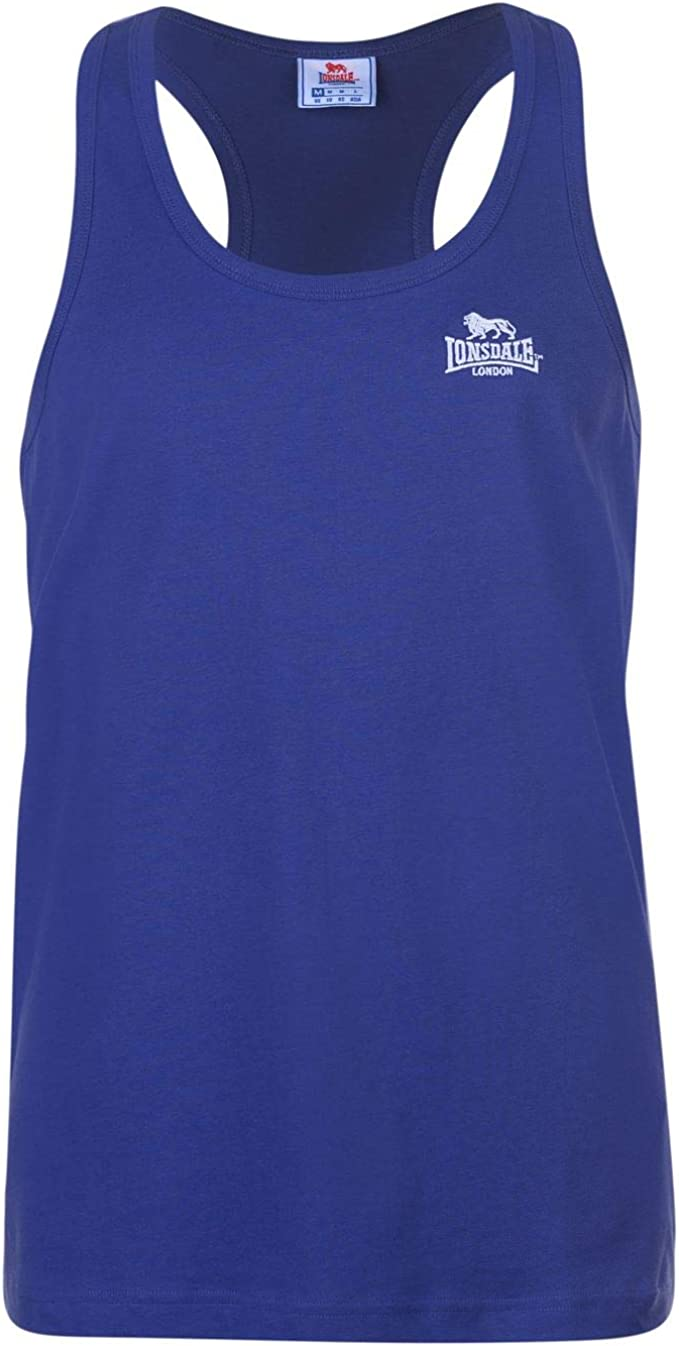 Mens Lonsdale Boxing Vest Top Sleeveless New