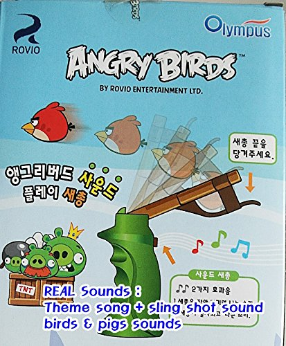 Angry Birds Play Slingshot Various Effect Funny Sounds Boy Girl Kid Play Gift by omtoy (Image #4)