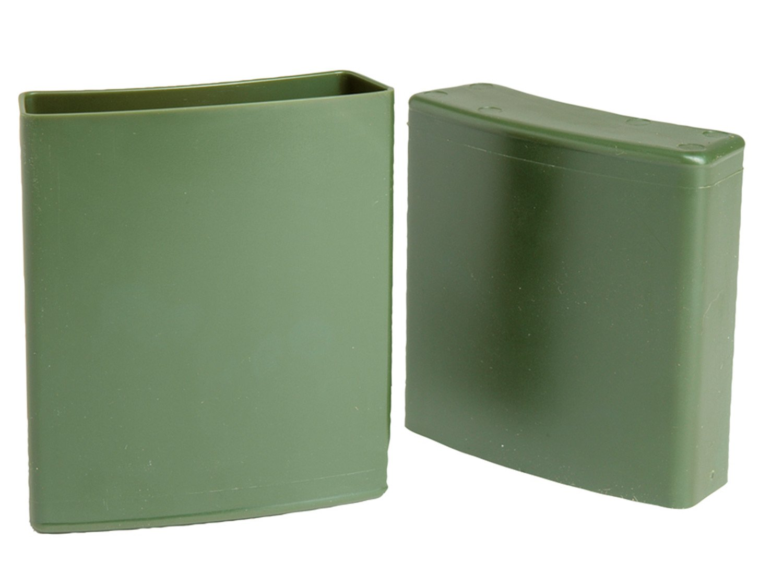 Kunststoff original TL BW Trailbox // Aufbewahrungsbox in Nierenform olive