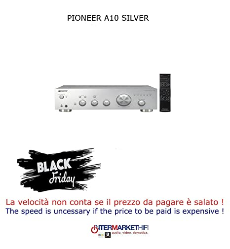 Pioneer A-10 Silver 50 W Stereo Amplifier with Direct: Amazon co uk
