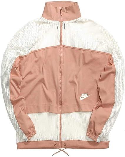Nike W NSW JKT Mesh Veste Femme, Multicolore-Or, Ivoire ...