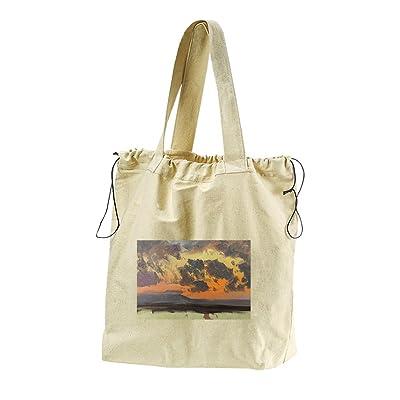 f3f3814271 Jamaican Sunset (Church) Canvas Drawstring Beach Tote Bag cheap ...