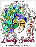 img - for Lovely Swirls: Coloring Book for Adults book / textbook / text book