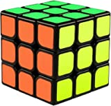 The Cube 3D Puzzle Game by Funlovers / Classic 3x3 Magic Rubik Cube / Best Size 5.6cmx5.6cm Brain Teasers/ Smooth Speed Twist Original Rubiks Cube Colours