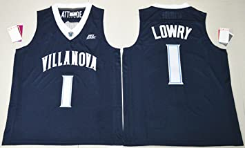low priced 00418 78f54 Mens Villanova Wildcats Kyle Lowry #1 College Basketball ...