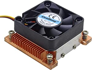 1U Server CPU Cooler Copper HeatSink for Intel Pentium M PGA 478 BGA 479 Industrial Computer Active Cooling