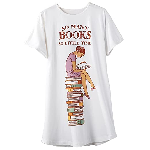So Many Books So Little Time Sleepshirt