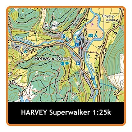 Satmap MapCard HARVEY HOWGILL FELLS 1:25K