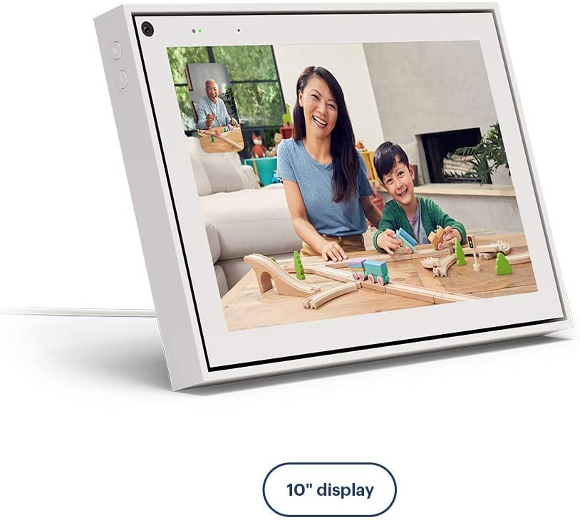 "Facebook Portal Smart Video Calling 10"" Touch Screen Display with Alexa White"