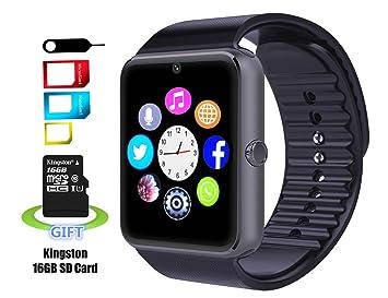 Montre Téléphone Montre Connectées YG8 Bluetooth avec carte SD 16 Go et emplacement pour carte SIM ...