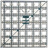 Grace Company 6-1/2-Inch by 6-1/2-Inch TrueCut Ruler