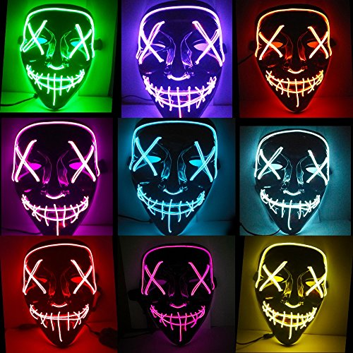 XJ-AM-LED-Great-Festival-Cosplay-Costume-Supplies-Party-Masks-Glow-in-Dark-Halloween-Mask