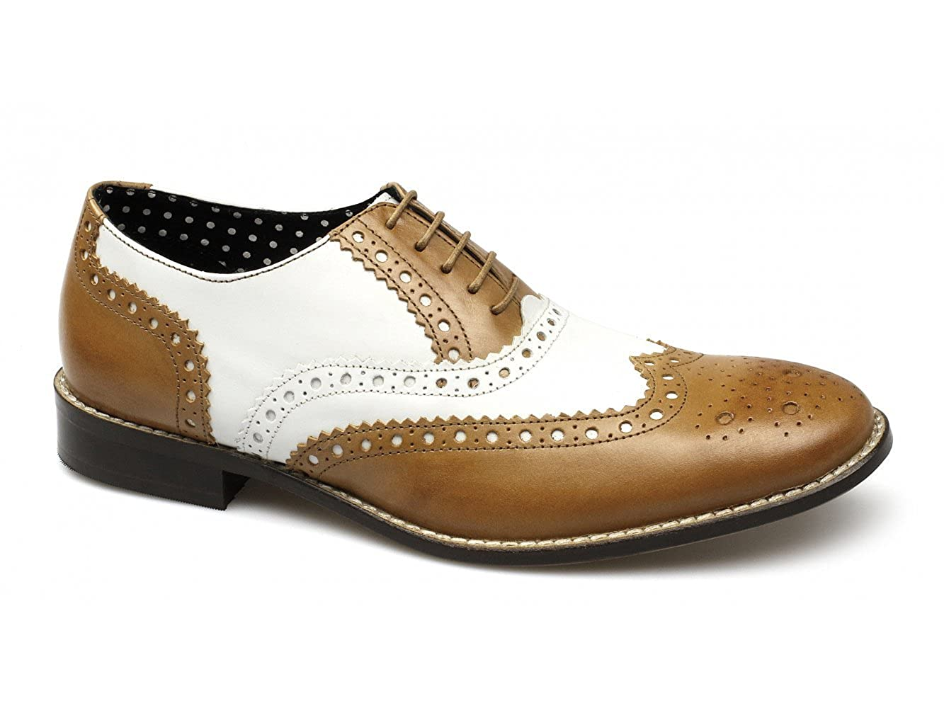 d68aee0a9d478 London Brogues Gatsby Mens Leather Brogue Shoes