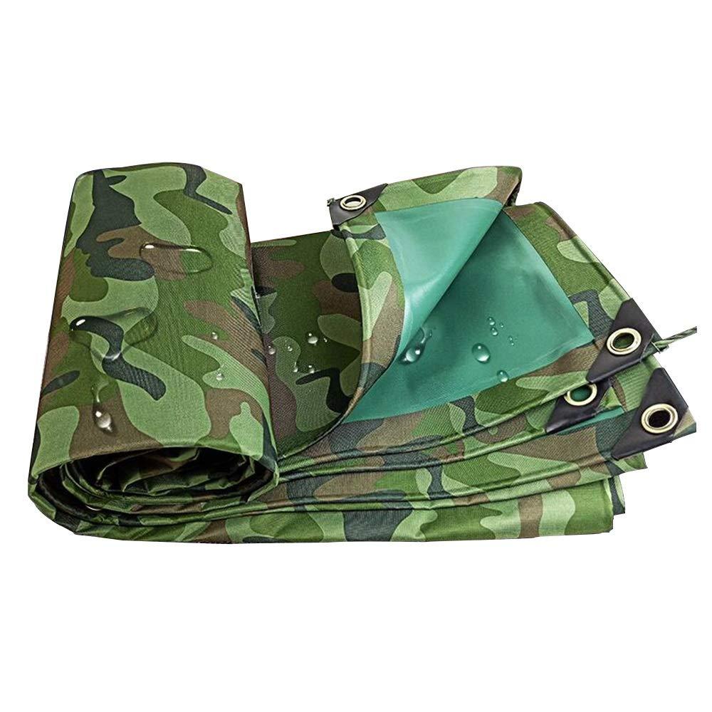 JIAYUAN bÂches BÂche imperméable résistante de Camo, bÂche de PVC de Toile de Camouflage avec la Prougeection UV pour Le Camion et Les remorques de Camping en Plein air