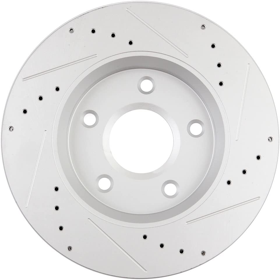 ECCPP 2pcs Front Discs Brake Rotors and 4pcs Ceramic Disc Brake Pads Fit for 08-2016 Chrysler Town /& Country 12-2015 Ram C//V 09-13 Dodge Journey 2009-2014 VW Routan 2008-2016 Dodge Grand Caravan