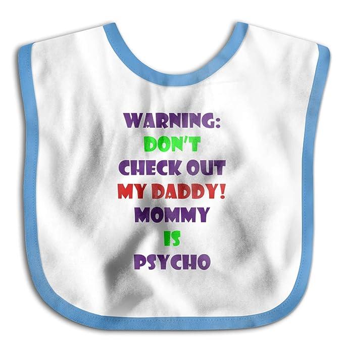 Daddy Baby Bib Babies Spill Proof Feeding UK SELLER First Steps I Love Mummy